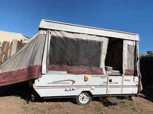 Pop up trailer as is no title get it off my backyard for Sale in Mesa, AZ