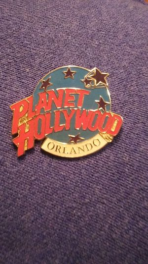 Collectable Planet Hollywood Brooch Pin Orlando for Sale in Tullahoma, TN