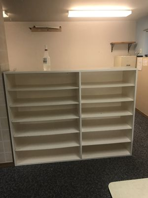 Metal and wooden bookshelves for Sale in Edmonds, WA