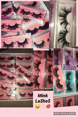 Variety of mink lashes 16mm-25mm for Sale in Fresno, CA