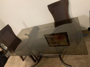 Glass table for Sale in Pittsburg, CA