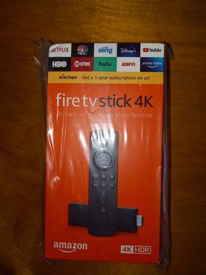 Fire TV stick 4K w/Alexia voice remote for Sale in Philadelphia, PA
