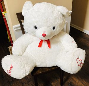 I Love You Soft White jumbo Teddy Bear for Sale in Buford, GA