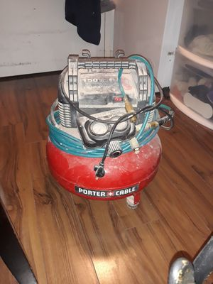 Porter Cable 150 PSI compressor for Sale in Brooklyn, NY