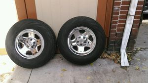 4 Jeep Wheels With Rims ( Full Set ) for Sale in Revere, MA