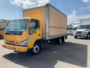 Box truck GMC Isuzu turbo diesel runs excellent for Sale in Alhambra, CA