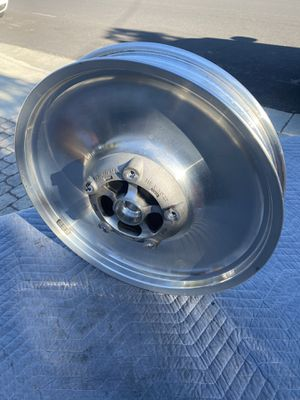 Vrod wheels V rod front and rear wheel for Sale in San Jose, CA