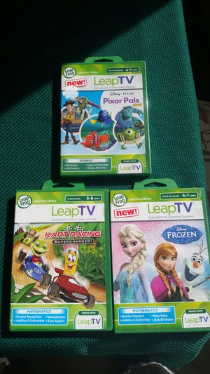 LeapTV games new for Sale in Laveen Village, AZ