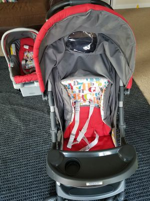 Graco click connect Car seat + Stroller for Sale in Chesapeake, VA