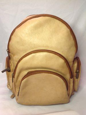 Vintage Leather Backpack Shoulder Travel Bag for Sale in Largo, FL