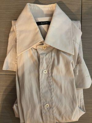 Gucci shirt 15 grey for Sale in Miami, FL