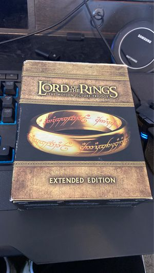 Lord of the rings extended version for Sale in Gastonia, NC