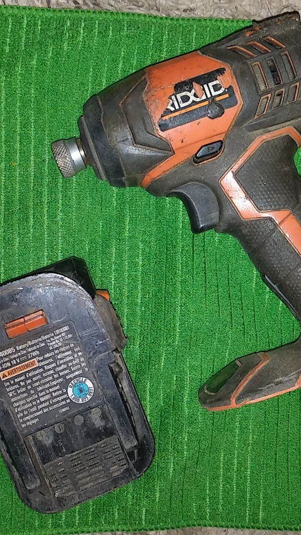 18volt Drill AND BATTERY, Rigid brand