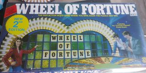 Vtg Wheel Of Fortune Board Game 2nd Edition for Sale in Bingham Canyon, UT