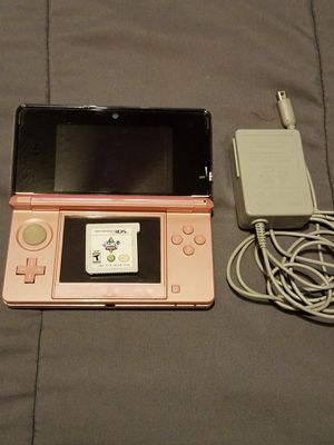 Pink Nintendo 3DS, 3 Games, 2 Chargers for Sale in Cleveland, OH