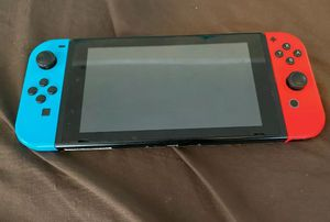 Nintendo Switch 32GB Console Tablet w/ Red & Blue & Gray Joy Con Bundle for Sale in Denver, CO