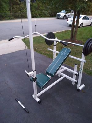 Golds Gym weight set. for Sale in South Riding, VA