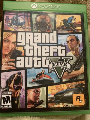 XBOX ONE - Grand Theft Auto V for Sale in Oceano, CA