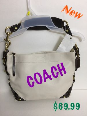 GENUIINE LEATHER HOBE COACH HAND BAG for Sale in Greenbelt, MD