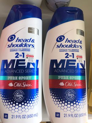 Head and shoulders with old spice for Sale in Chino Hills, CA