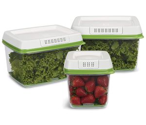 Rubbermaid FreshWorks Produce Saver Food Storage Containers Stay Fresh for Sale in Chicago, IL