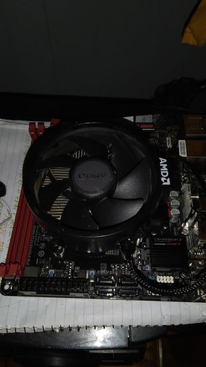 Ryzen 5 2600 with itx motherboard and stealth cooler for Sale in Sheridan, AR