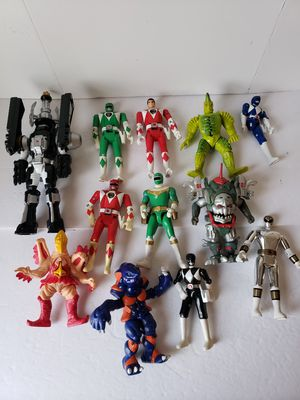 Power rangers action figure toy lot for Sale in Peoria, AZ