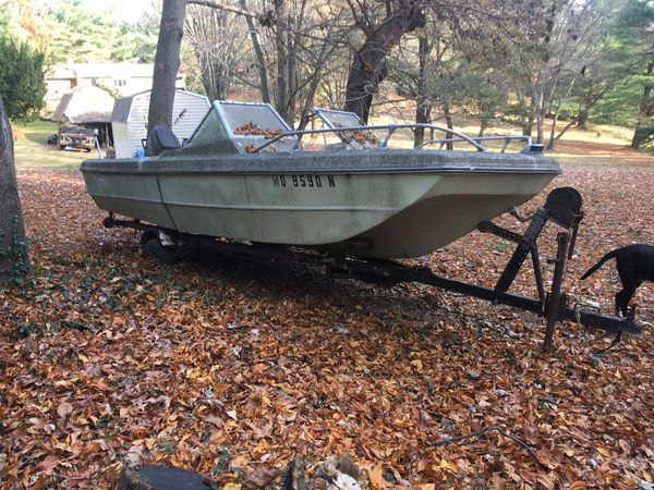 1971 17' boat