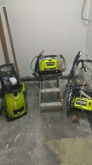 Pressure washer 3000psi,1700psi and 1600psi for Sale in Emeryville, CA
