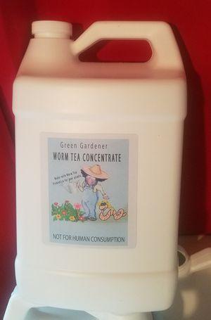 Green Gardener Worm Tea Liquid Fertilizer Concentrate for Sale in Downey, CA