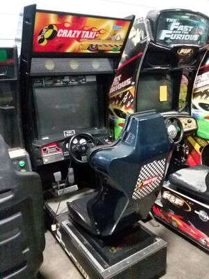 Crazy Taxi sit down arcade driving game-working for Sale in Columbus, OH