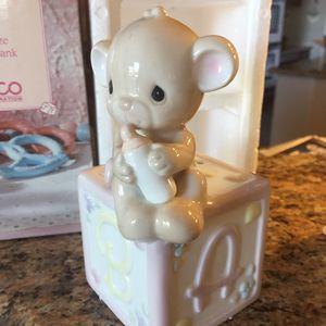 Precious moments vintage baby bear bank 1990 for Sale in Phoenix, AZ