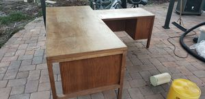 Wood desk for Sale in St. Petersburg, FL