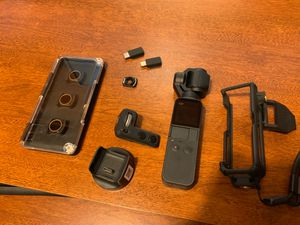 DJI OSMO POCKET WITH COMBO KIT AND ACCESSORIES for Sale in Vancouver, WA