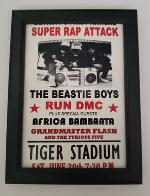 Small Beastie Boys Airplane licensed to I'll print mini poster flyer Rap Hip hop music for Sale in Covina, CA