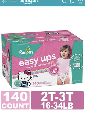 Pampers easy ups 2T - 3T for Sale in Rodeo, CA