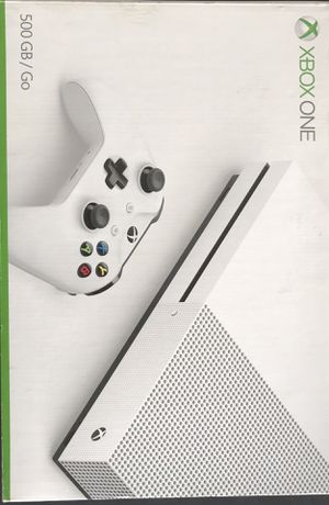 Xbox One 500gb with 1 controller and 4 games for Sale in Miami, FL