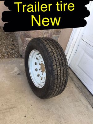 New 6 lug trailer tire. 215/75/15. for Sale in Ontario, CA