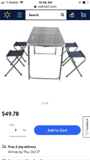Picnic table w chairs for Sale in Glendora, CA