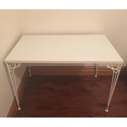 White IKEA Scroll Desk - Like New for Sale in Seattle,  WA