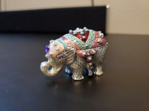Monet Elephant Trinket Box for Sale in Happy Valley, OR