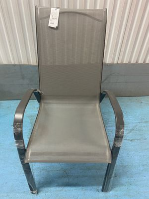 Patio stacking chair ( new ) for Sale in Charlotte, NC