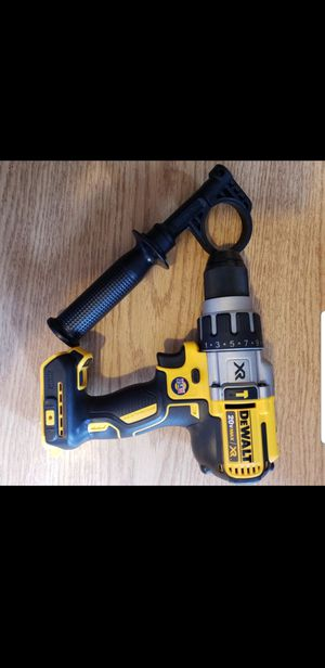 DeWalt XR brushless 3 speed hammer drill. Brand new. No battery or charge for Sale in San Antonio, TX