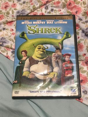 DVD Shrek one and two for Sale in Bakersfield, CA