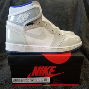 Nike Air Jordan 1 Retro High Zoom White Racer Size 9 for Sale in The Bronx, NY