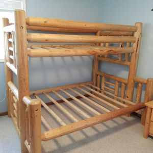 Log Cabin Bunk Bed/Bunkbed for Sale in Vancouver, WA