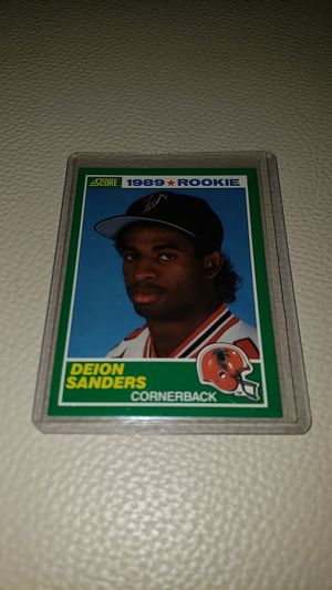 1989 Score Deion Sanders Rookie Card for Sale in Hialeah, FL
