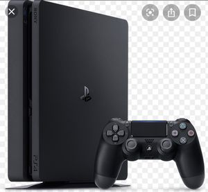 PS4 slim ask for pictures for Sale in Sterling Heights, MI