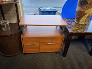 Small table o. Wheels for Sale in Erie, PA