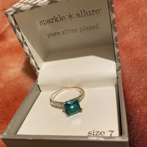 Silver Plated Ring Size 7 for Sale in Dallas, TX